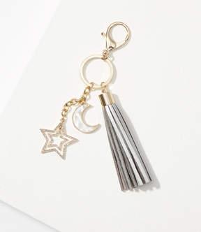 LOFT Star Tassel Keychain