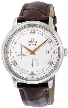 Omega De Ville Prestige Silver Opaline Dial Automatic Men's Watch