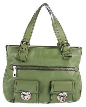 Marc Jacobs Leather Stella Bag - GREEN - STYLE