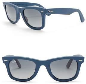 Ray-Ban Wayfarer Leather Sunglasses