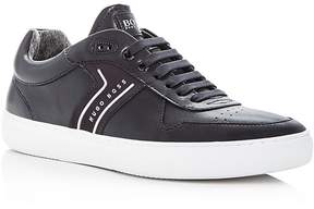 HUGO BOSS Men's Enlight Leather Lace Up Sneakers
