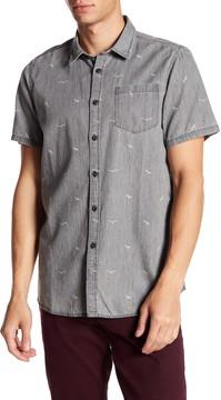 Micros Suikazura Short Sleeve Printed Woven Shirt