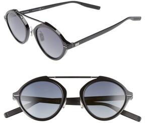 Christian Dior Men's System 49Mm Sunglasses - Black Matte