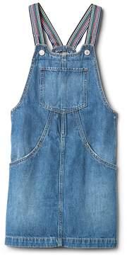 Gap Rainbow Denim Skirt Overalls