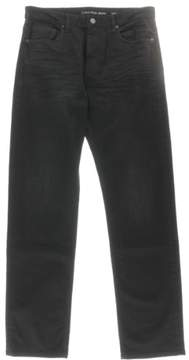 Calvin Klein Jeans Mens Denim Relaxed Straight Leg Jeans