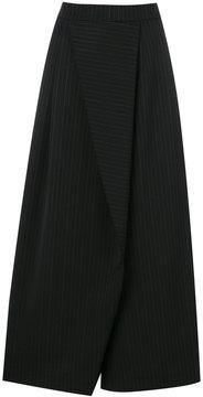 Antonio Marras wide leg asymmetric panel pants