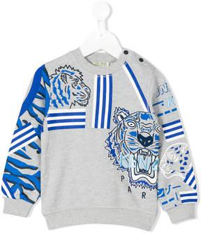 Kenzo multi-print Tiger sweatshirt