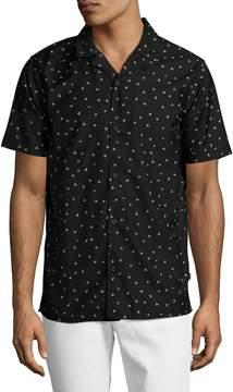 Globe Men's Kinlock Printed Sportshirt