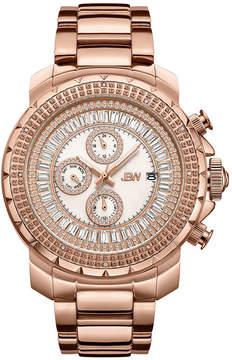 JBW Diamond Mens Rose Goldtone Bracelet Watch-J6347e