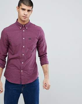 Lee Jeans Checked Button Down Shirt