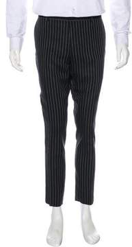Ralph Lauren Purple Label Linen Pinstripe Dress Pants