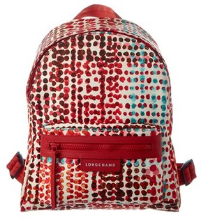 Longchamp Le Pliage Neo Fantaisie Polka Small Nylon Backpack. - RED - STYLE