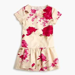 J.Crew Girls' floral splash dress