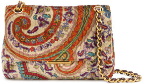 Etro fold over shoulder bag