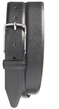 Nordstrom Men's Evans Saffiano Leather Belt
