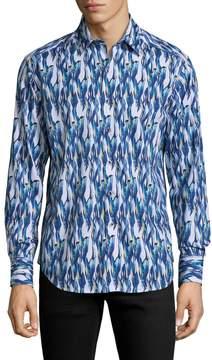 Robert Graham Men's Bolderwood Cotton Sportshirt