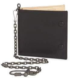 Maison Margiela Calf Leather Wallet & Chain
