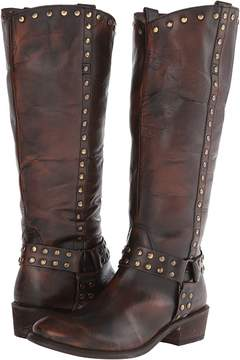 Roper Studded Harness Riding Boot