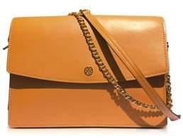 Tory Burch Women's Orange Leather Shoulder Bag. - ORANGE - STYLE