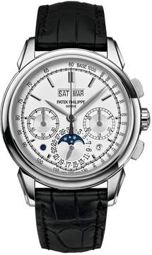 Patek Philippe Grand Complications Silver Dial 18K White Gold Men's Watch