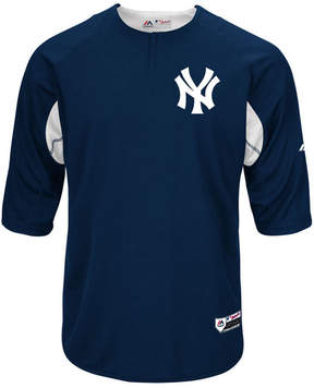 Majestic Men's New York Yankees On-Field Bp Trainer Jersey