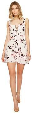 Flynn Skye Leila Lace-Up Mini Dress Women's Dress