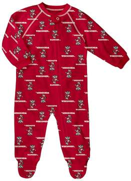 NCAA Baby Wisconsin Badgers Team Logo Coverall