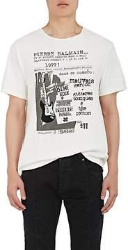Pierre Balmain MEN'S ROCK & ROLL GRAPHIC COTTON T-SHIRT