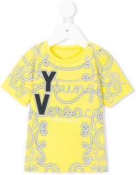 Versace roped logo print T-shirt