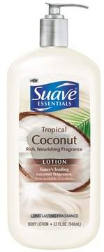 Suave Essentials Body Lotion Tropical Coconut - 32oz