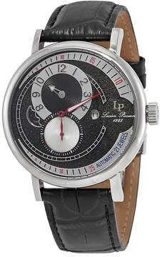 Lucien Piccard Supernova Black and Silver Dial Automatic Men's Watch
