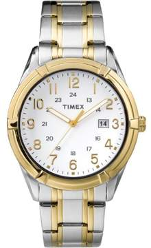Timex TW2P76500 Easton Avenue Men's Watch Silver/Gold Two-Tone 39mm Stainless Steel