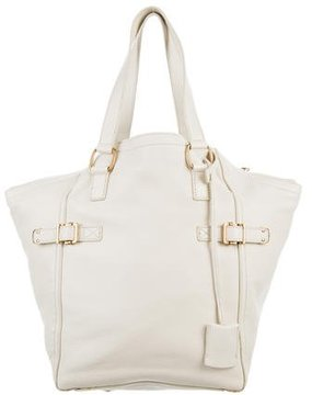 Saint Laurent Downtown Tote - NEUTRALS - STYLE