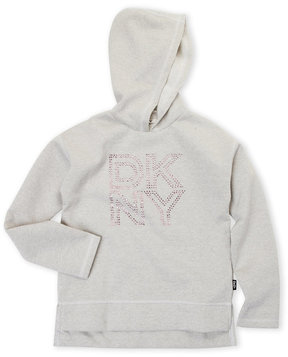 DKNY Girls 7-16) Heart Popover Hoodie
