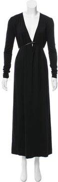 Calvin Klein Collection Wool Maxi Dress