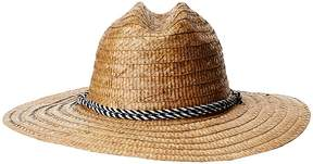 San Diego Hat Company Kwai Braided Straw Lifeguard Caps