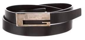 Gucci Skinny Leather Belt