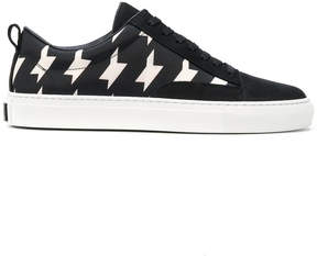 MSGM abstract print sneakers