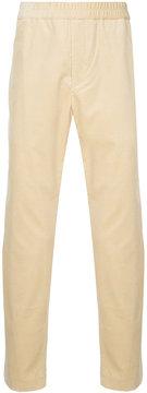 ESTNATION elastic waist cropped trousers