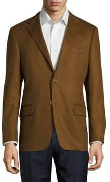 Hickey Freeman Notch Lapel Cashmere Sportcoat