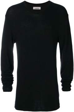 Laneus cashmere fitted sweater