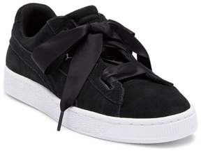Puma Suede Heart Sneaker (Big Kid)