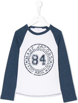 Little Marc Jacobs printed logo T-shirt