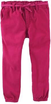 Osh Kosh Oshkosh Bgosh Toddler Girl Tapered Woven Pants