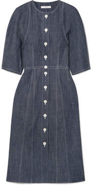 Tibi Denim Shirt Dress - Dark denim