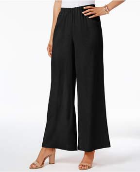 ECI Pull-On Wide-Leg Pants