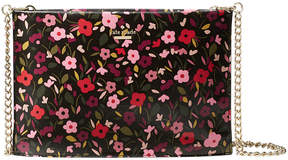 Kate Spade Black Boho Floral Cameron Street Sima Crossbody Bag