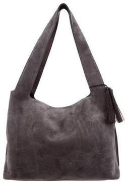 The Row Suede Duplex Shoulder Bag
