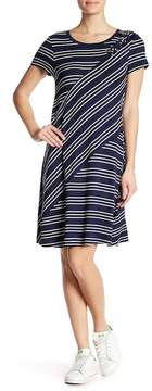 Spense Striped Terry Dress