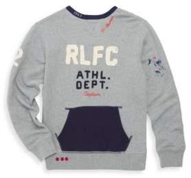 Ralph Lauren Toddler's, Little Boy's & Boy's French Terry Sweatshirt